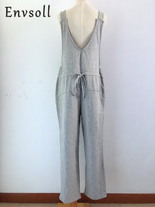 Long Jumpsuit Maternity Pants
