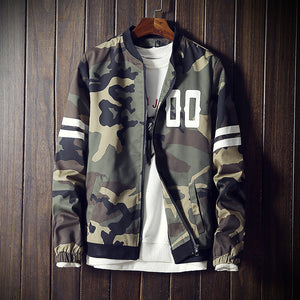 Camouflage Fashion Bomber Jacket