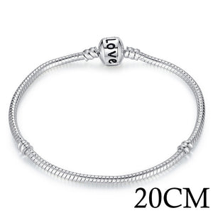 Silver Color Chain Bracelet