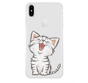 Animal Cartoons Phone Case For iPhone X