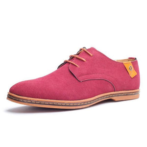 Colored Suede Shoe for Men