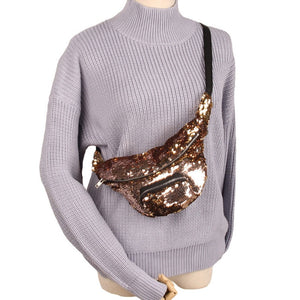 Sequins Casual Fanny Pack