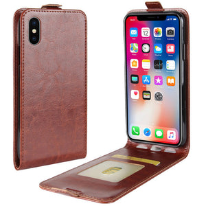 Leather Phone Case For iPhone X