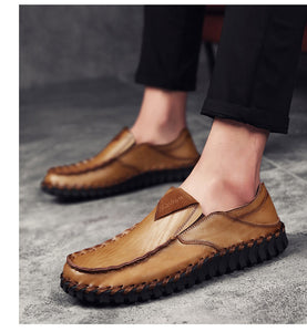 Men's Loafers Moccasins Breathable Casual Shoe