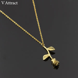 Gold/Silver Flower Choker