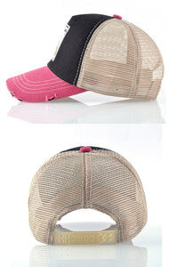 Animals Designs Casual Mesh Baseball Hat