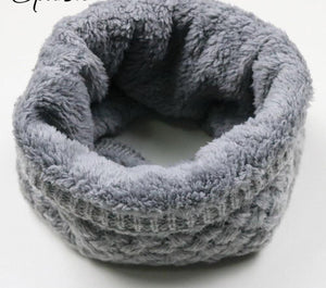 Knitted Ring Women's Scarf