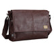 Leather Travel Messenger Bag
