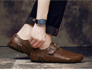 Dress Loafers Leather Men's Shoe