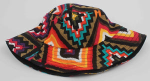 Aztec Geometric Printed Bucket Hat