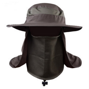 Army green fishing bucket hat