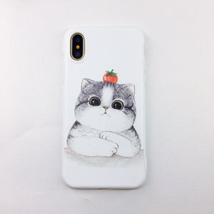 Art Leaf Phone Case for iPhone X