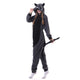 Gray Raccoon Adult Onesie Pajama Costume