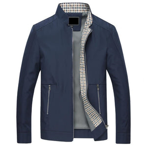 Slim Fit Button Casual Men's Jacket
