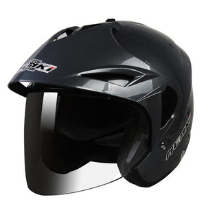 Motorcycle Helmet Flip Up With Inner Sun Visor