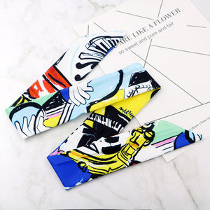 Print Fashionable Luxury Headbands