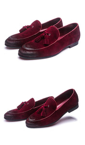 Suede Casual Loafer Men's Shoe