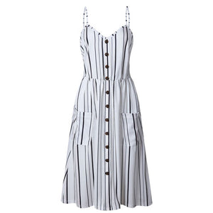 Casual Long Sundress Vestidos Elegant Summer Bohemian (Boho) Dress