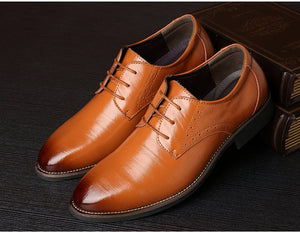 Men's Oxford Leather Formal Office Shoes