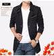 Trenchcoat Masculina Windbreaker Men's Jacket