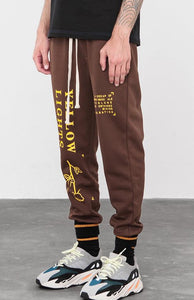 Letter printing ip hop trendy fashion Men's Track Sweatpants