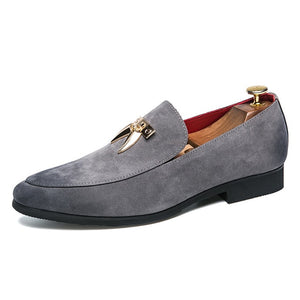 Italian Desinger Slip On Loafer Men's Shoe