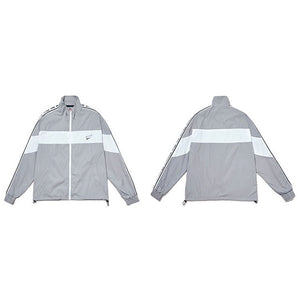 Full Zipper Colors Sport Windbreaker Jacket
