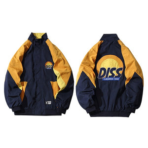 DISS Embroidery Track Windbreaker Jacket