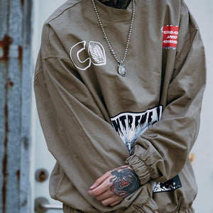 Hip Hop Stylish Windbreaker Sweatshirt