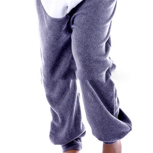 Gray Seal Adult Onesie Pajama Costume