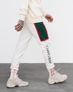 Hiphop Style Side Striped Pockets Retro Men's Track Sweatpants