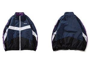Sports Vintage Windbreaker Jacket