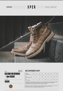 Leather Lace-Up Men's Dress Boot