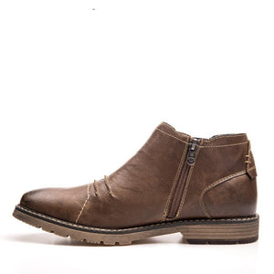 Stylish Leather Men's Winter Dress Boot
