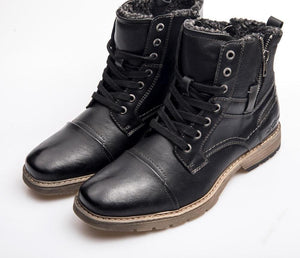 Leather Warm Waterproof Casual Men's Boot