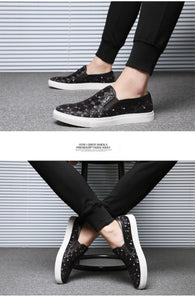 Pattern Casual Sports Men's Shoe