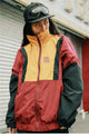 Uno Sual Retro Vintage Windbreaker Jacket