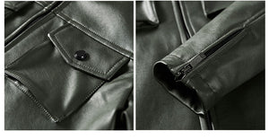 Top Quality Winter Men's Leather Jacket