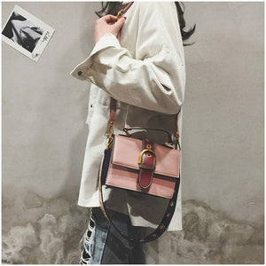 Leather Shoulder Messenger Women's Bag