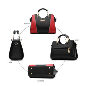 luxury designer Contrast color stitching cross body bags