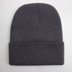 Solid Unisex Beanie Colored Collection