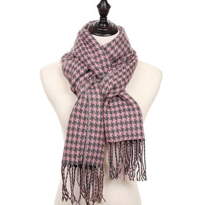 Classic Winter Plaid Women's Scarf