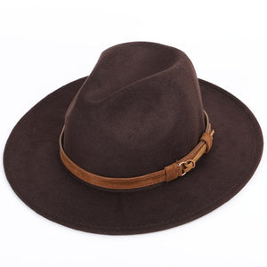 Adjustable Classic Fit Fedora Hat