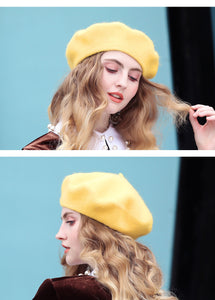 Wool Beret For Women