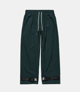 Hip Hop Loose Fit Eye-splice Ankle Strap Casual Men's track sweatpants
