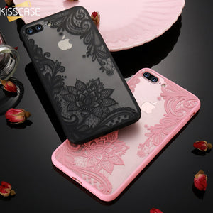 3D Flower Case For iPhone X