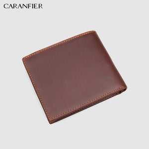 Classic Vintage Genuine Leather Men's Wallet