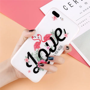 3D Flower Phone Case For iPhone X