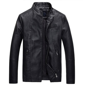 Pilot Biker Motorcycle Men's Leather Jacket