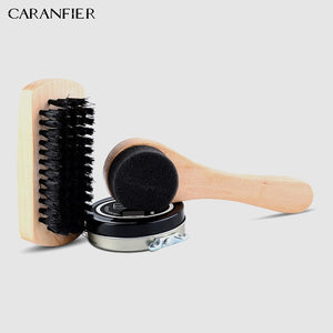 7 Pieces Shoes Shine Care Kit Polishing Tools